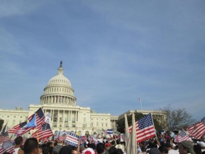 Senate Introduces Bill, Immigration March is A Success