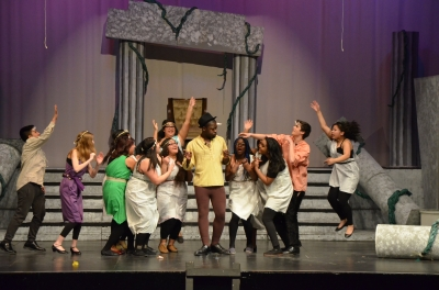 Student actors talk about the thespian experience as Pippin opens at KDY