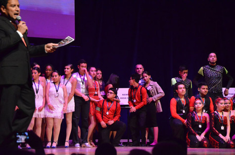 Kennedy's Latin Dance Team Competes