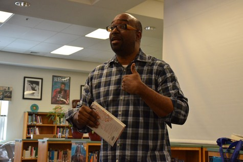 Famous Author Speaks to Kennedy Students